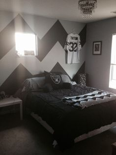 Football themed Bedroom Accessories Unique Raider Room is Scoring to Her Kids Bedroom Paint, Bedroom Wall, Bedroom Decor, Game Room Decor, Living Room Decor, Football Bedroom, Diy Home, Home Decor, Family Wall Decor