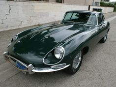 E-Type....mine was a moss green color and it was really fast....loved it!