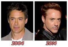Robert Downey Jr. -- he gets hotter every year.  Or decade.