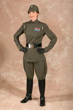 If you love Star Wars the an Imperial Officer costume would be a good uniform choice!