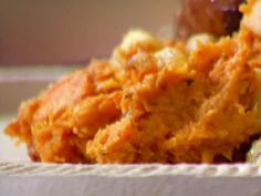 Get Anne Burrell's Roasted Sweet Potatoes and Apples Recipe from Food Network