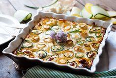 Sabores de colores   Recetas deliciosas con fotos bonitas para cualquier ocasión.: Quiche sin base de cabalacín, queso feta y cebollino