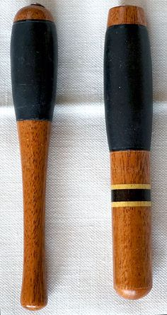 Two mahogany penholders with tactile rubber sleeve finished earlier today for Paula. Calligraphy Pens, Tools, Writing, Sleeve, Calligraphy Fountain Pens, Manga, Instruments, Being A Writer, Finger