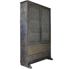 Rustic French Secretaire, circa 1850s | From a unique collection of antique and modern secretaires at https://www.1stdibs.com/furniture/storage-case-pieces/secretaires/