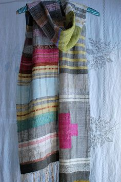 forget me scarf by avalanche looms