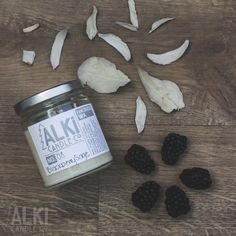 All Natural, Eco-Friendly Soy Candle. Blackberry sage is a sweet and earthy scent, allowing for a sweet sage scent without the smoke of smudging. 16.00 at Alki Candle Co.