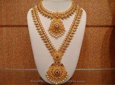 Latest Indian Bridal Necklace Sets, Indian Bridal Necklace Designs, Gold Bridal…