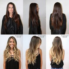 Balayage Dark Hair Before After Brunette With Blonde Highlights, Dark Hair To Blonde, Balayage Brunette To Blonde, Going Blonde From Brunette, Blonde Ends, Hair Color And Cut, Hair Colour, Hair Transformation, Balayage Hair