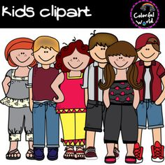 This Kids clipart set includes 14 images, in color and black and white, high resolution, png format _____________________________________________________________________ Terms of use You may: Png Format, Clip Art, Education, Black And White, Kids, Free, Fictional Characters, Color, Young Children