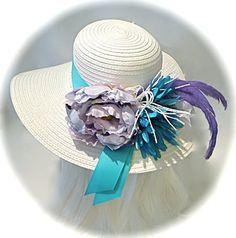 d35c8ef5dab SUMMER SALE    Lavender Derby Hat Mother of the Bride DH-119