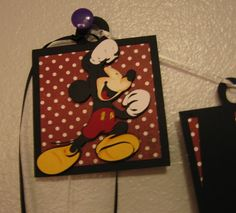 Mickey Birthday Banner by ATime2beeunique on Etsy, $19.50