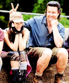 Christian Serratos & Josh McDermitt