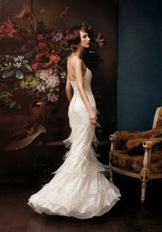 Alena Goretskaya 2014 Bridal Collection -- need to check out this designer.... <3