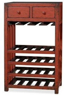 Ideas for wine rack rack console table drawers