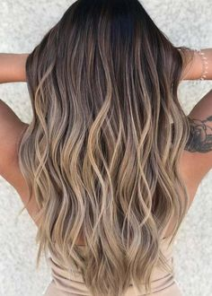 Balayage and ombre hair. Hair Color Ideas & Trends for 20 - Hairstyles hair ideas. Balayage and ombre hair. Hair Color Ideas & Trends for 20 Hairstyles hair ideas. Balayage and ombre hair. Hair Color Ideas & Trends for 20 Hair Color Balayage, Blonde Color, Hair Highlights, Summer Highlights, Haircolor, Brown With Blonde Balayage, Brunette Highlights Lowlights, Bayalage Brunette, Beige Highlights
