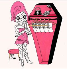 Discover the latest Valfre fun phone case designs, clothing for women, unique jewelry, dresses, and more. Halloween Artwork, Halloween Painting, Halloween Photos, Cute Halloween, Halloween Wallpaper, Unicorns And Mermaids, I Believe In Pink, Halloween Drinks, Vintage Horror