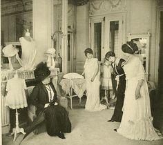 Les Createurs de La Mode 1910 - 18- Salon de Lingerie - Redfern