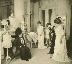 Les Createurs de La Mode 1910 - 18- Salon de Lingerie - Redfern | Flickr - Photo Sharing!