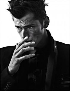Sean O'Pry by David Roemer for Vogue Hombre