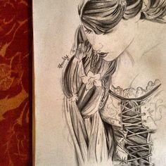 Tangled, Rapunzel #sketch #art #disney