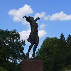 Tańcerka w Parku Skaryszewskim