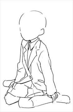 Drawing Base, Manga Drawing, Figure Drawing, Anime Drawings Sketches, Anime Sketch, Manga Poses, Art Inspiration Drawing, Poses References, Drawing Expressions