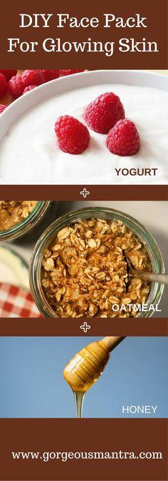 Get Glowing Skin With Yogurt!