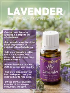 Win Me! 5 mL bottle of Young Living Everyday Essential Oils Lavender   healthylivinghowto.com by 2/23/14