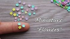 New embroidery flowers tutorial polymer clay ideas Polymer Clay Flowers, Fimo Clay, Polymer Clay Projects, Polymer Clay Charms, Polymer Clay Art, Polymer Clay Jewelry, Clay Crafts, Polymer Clay Miniatures, Polymer Clay Creations