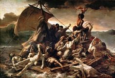 Théodore Géricault ne La zattera della Medusa colse l'attimo in cui i naufraghi videro lontana all'orizzonte la sagoma di una nave: era il brigantino Argus
