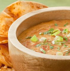 In the rare instance you find yourself with leftover Chile con Queso, use it on baked potatoes, on tacos or even chili.