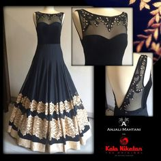 fabuluous balck dress by  aAnjali Mahtani