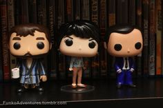 """funkoadventures: """"Chuck, Linda Tran, and Henry Winchester are all set for their trip to Seacon tomorrow. Supernatural Pop Figures, Supernatural Actors, Pop Vinyl Figures, Funko Pop Figures, Linda Tran, Sam E Dean Winchester, Cool Toys, Awesome Toys, Funko Pop Toys"""