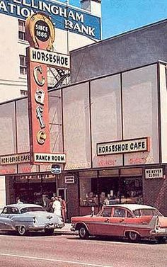 Horseshoe Cafe and the Ranch Room...back in the day    @livegoodbehappy  www.livegoodbehappy.com