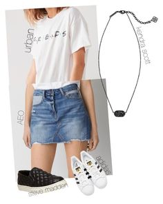 """Untitled #40"" by fia2002 on Polyvore featuring Steve Madden, adidas Originals and Kendra Scott"