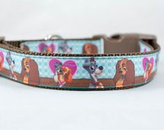 Lady and the Tramp Dog Collar, For Rosie!!!