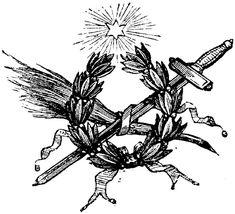 Laurel and sword