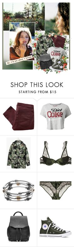 """Go your way. I'll take the long way 'round,  I'll find my own way down."" by winfreda ❤ liked on Polyvore featuring Helmut Lang, Madewell, Heidi Klum, Croft & Barrow, rag & bone and Converse"