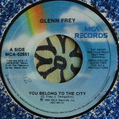 GLENN FREY...........YOU BELONG TO THE CITY...........1985.......CAN HEAR #CLASSICROCKPOPEASYLISTENINGROCKNROLLPOPVOCALS