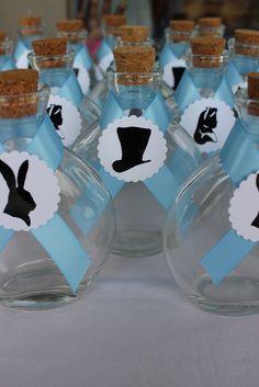 Favors at a Alice in Onederland #aliceinwonderland #partyfavors