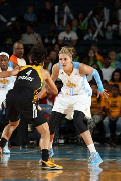I would love to be in the WNBA and play for th e Chicago Sky one day.