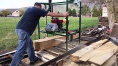 Výsledok vyhľadávania obrázkov pre dopyt how to make a chainsaw mill