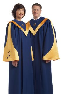 bcac178c00 A colorful sleeve treatment makes this energetic robe a standout. Backed by  our Guarantee of