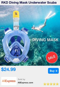RKD Diving Mask Underwater Scuba Anti Fog Full Face Diving Mask Snorkeling Set with Anti-skid Ring Snorkel 2017 New Arrival * Pub Date: 01:56 Sep 21 2017