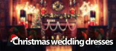 Christmas Wedding Dresses - Style Tips  http://www.lovethatfrock.com/blog/christmas-wedding-dresses/
