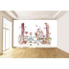 """Mural Infantil Personalizado """"HAN & GRET"""""""