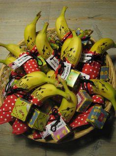 lekkerensimpel's image 2 Birthday, Birthday Treats, Zoe S, Banana Treats, Food Decoration, Food Humor, Diy For Kids, Food Art, Food Inspiration