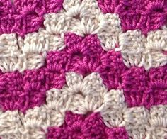 After searching everywhere for this pattern my grandmother used to make and not finding written instructions, I decided to write the pattern instructions myself. I thought this variation of the block stitch was well known, and I don't claim that I invented it. I just wrote it down so everyone can enjoy it.