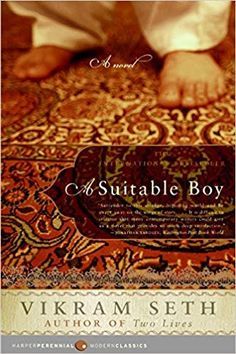 A Suitable Boy: A Novel (Modern Classics), Vikram Seth-- one of my favorite very long books. Books For Boys, I Love Books, Great Books, Books To Read, Buy Books, Date, Long Books, Thing 1, Reading Challenge