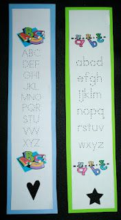 ABC Bookmarks